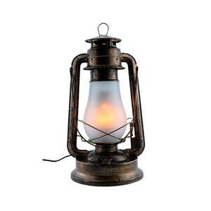 LED21 Závěsné LED svítidlo, imitace plamene 5W 250lm, Bronz PD9041